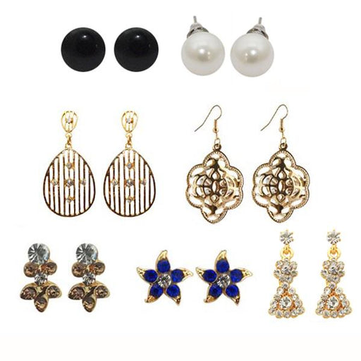 The99Jewel Set Of 7 Earrings Combo
