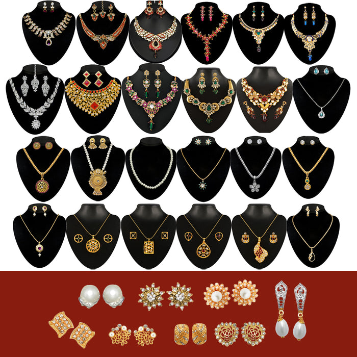 14Fashions Set of 32 Jewellery Combo