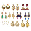 14Fashions Set Of 10 Earrings Combo