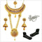 14Fashions Gold Plated Set Of 8 Bridal Jewellery