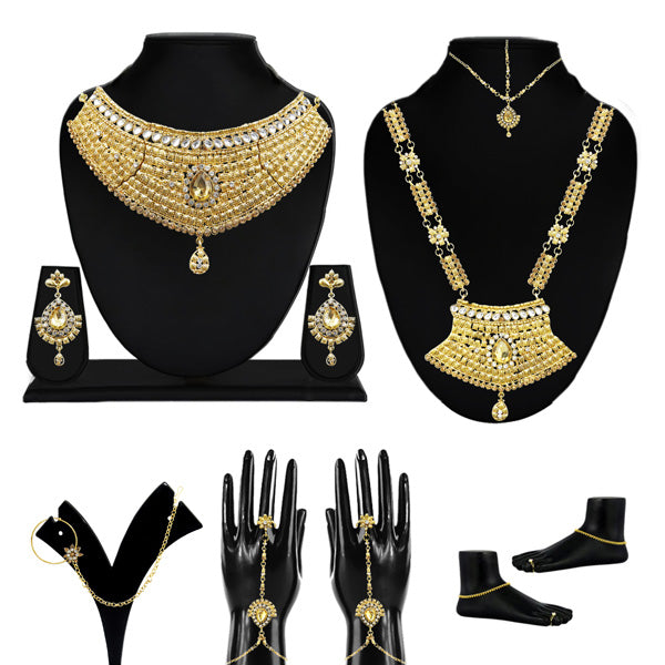 Utkrishtt Set Of 10 Bridal Jewellery
