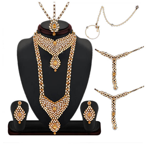 14Fashion Gold Plated Bridal Jewellery Set