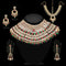14Fashions Gold Plated Kundan Bridal Set