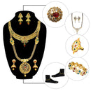 14Fashions Set Of 10 Bridal Jewellery Combo
