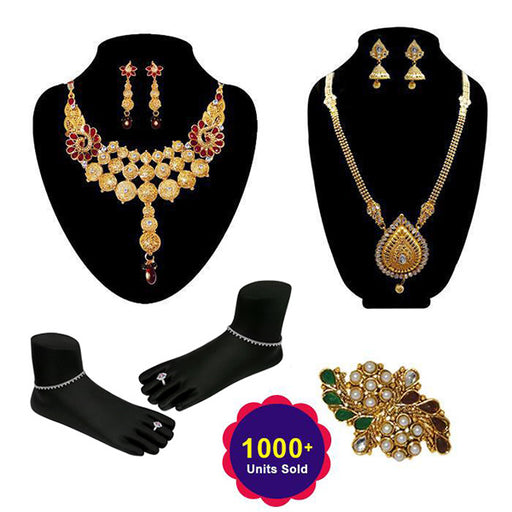 14Fashions Set Of 7 Bridal Jewellery