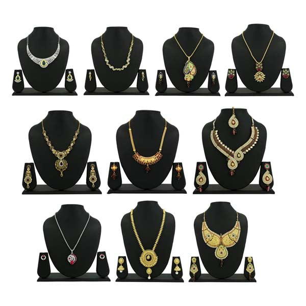 14Fashions Set of 10 Jewellery Combo