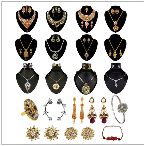 14Fashions Set Of  20 Jewellery Combo