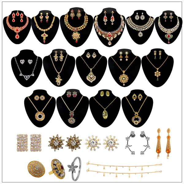 14Fashions Set of 24 Jewellery Combo