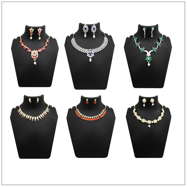 14Fashions Set of 6 Necklace Combo