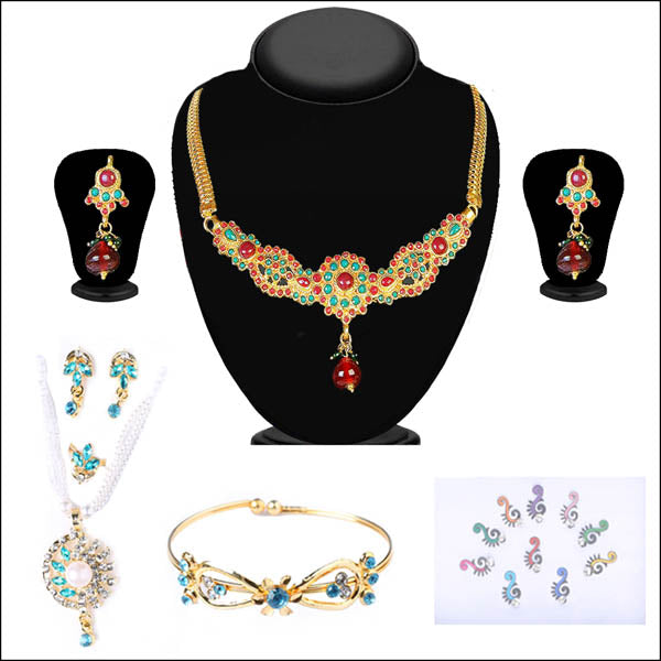 14Fashions Set of 4 Jewellery Combo