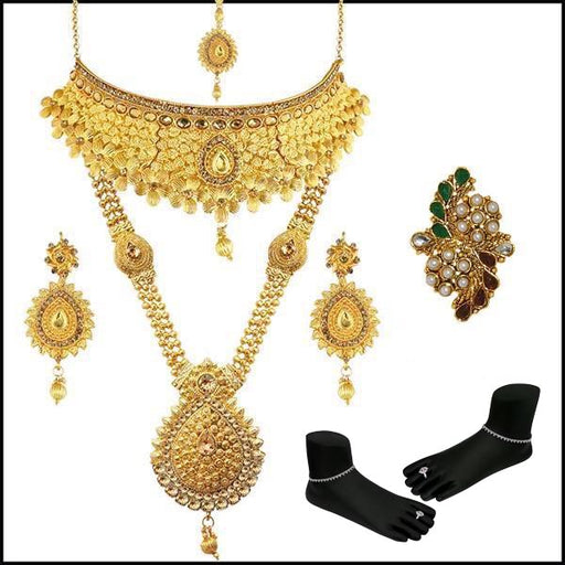 14Fashions Set of 7 Jewellery Bridal Set