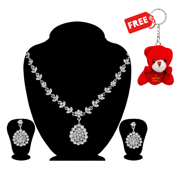 14Fashions Necklace Set With Free Teddy