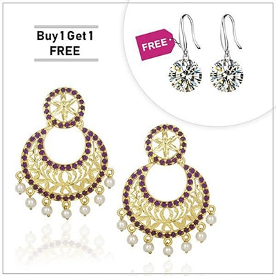 Kriaa Buy 1 Earring And Get 1 Free