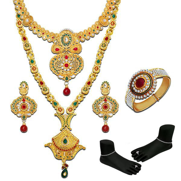 14Fashions Set of 6 Bridal Jewellery