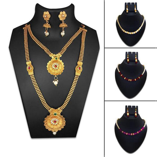 14Fashions 4 Necklace Combo - 1003600