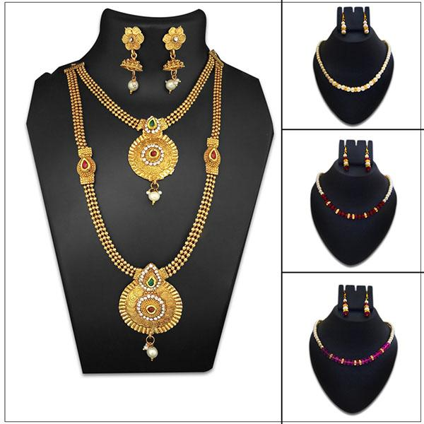14Fashions 4 Necklace Combo - 1003601