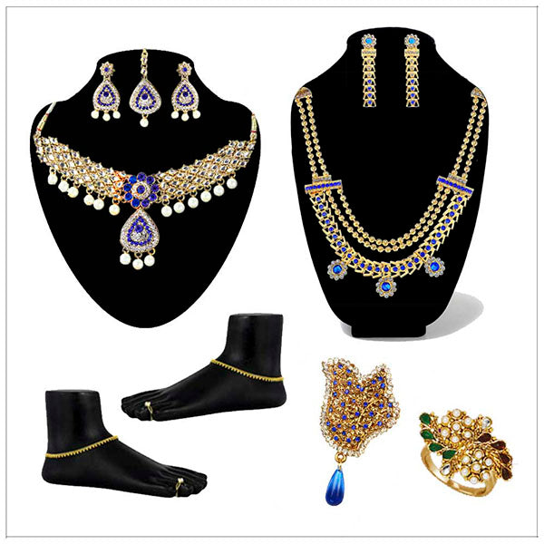 14Fashions Set of 8 Jewellery Combo