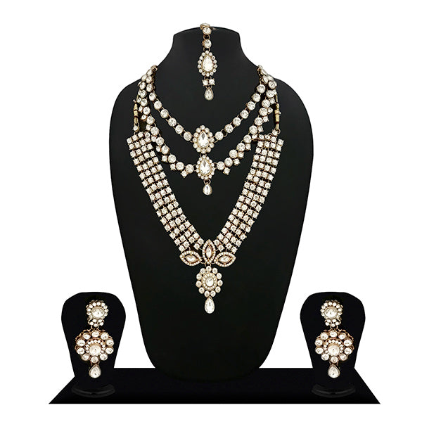 14Fashions Crystal Stone Bridal Jewellery