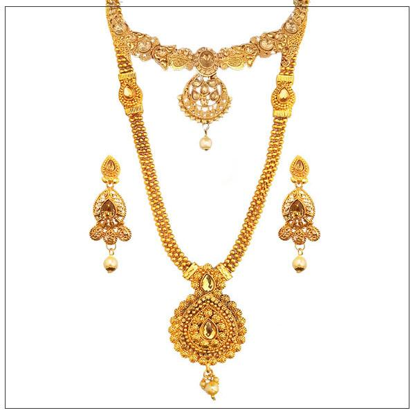 14Fashions Gold Plated Bridal Jewellery