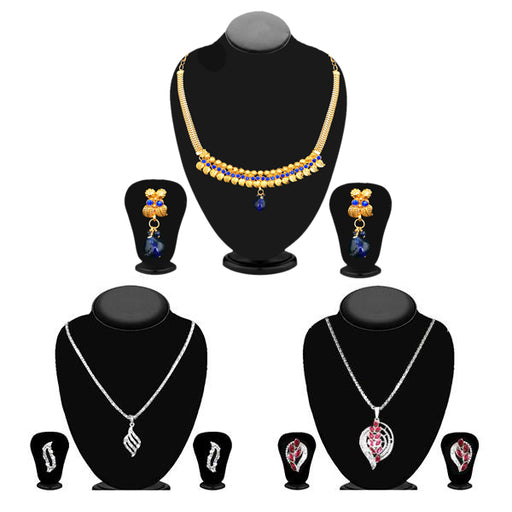 14Fashions Set of 3 Jewellery Combo - 1003683 -ES