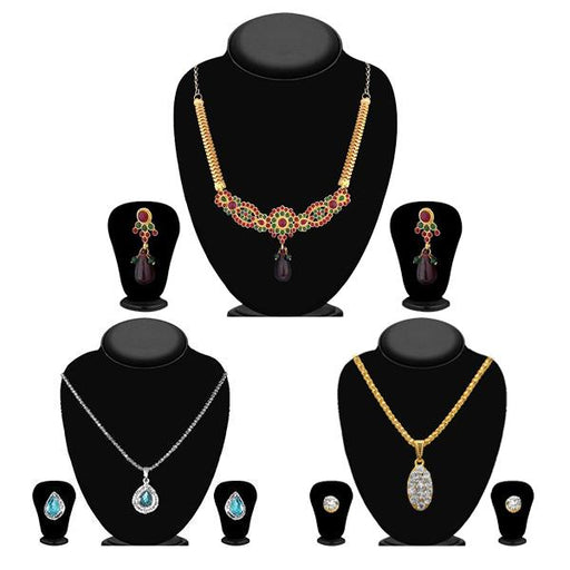 14Fashions Set of 3 Jewellery Combo - 1003686 -ES