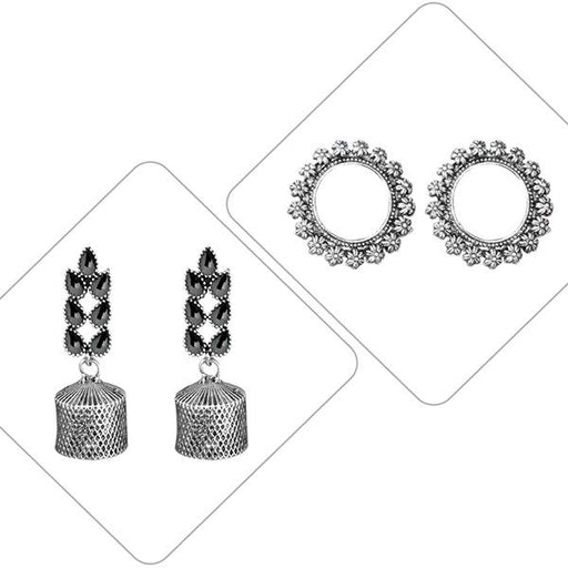 14Fashions Set of 2 Earrings Combo - 1003839