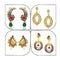 14Fashions Set of 4 Earrings Combo - 1004020