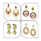 14Fashions Set of 4 Earrings Combo - 1004022