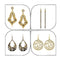 14Fashions Set of 4 Earrings Combo - 1004023