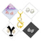 14Fashions Set of 5 Jewellery Combo - 1004026