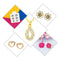14Fashions Set of 5 Jewellery Combo - 1004028