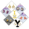 14Fashions Set of 7 Jewellery Combo - 1004031