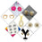 14Fashions Set of 7 Jewellery Combo - 1004032