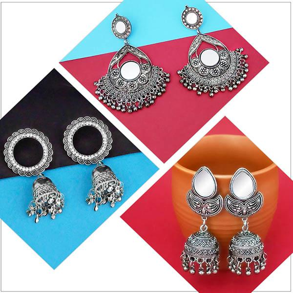 14Fashions Set of 3 Earrings Combo - 1004062