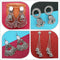 14Fashions Set of 4 Earrings Combo - 1004064