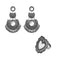 Native Haat Set of 2 Earrings Combo - 1004234