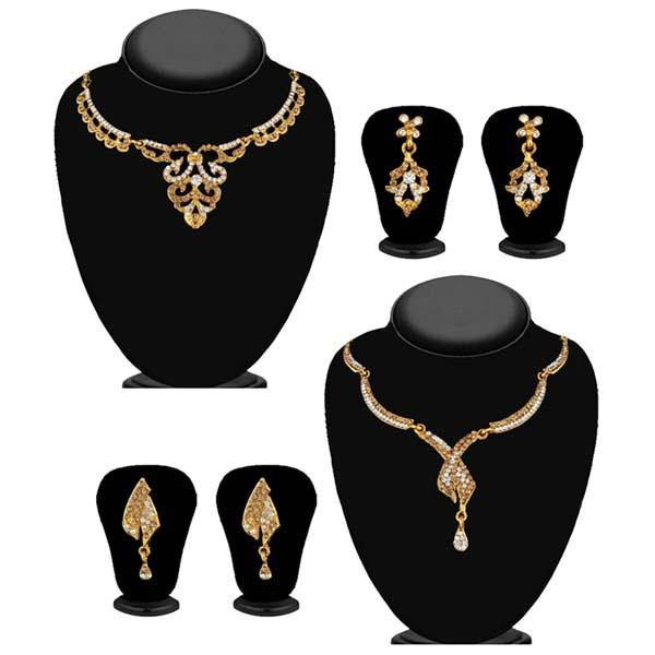 14Fashions Set of 2 Necklace Combo - 1004260