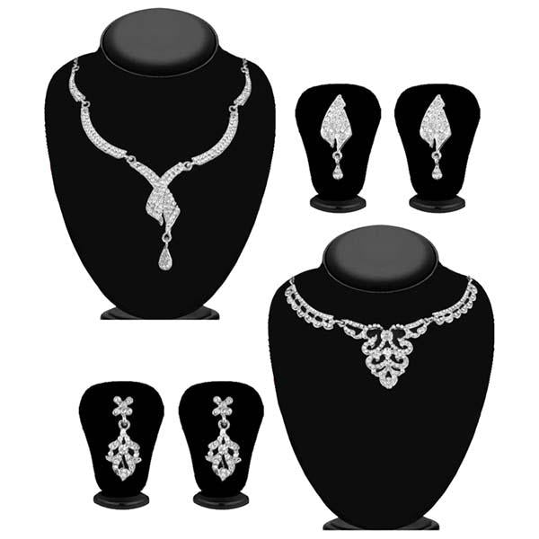 14Fashions Set of 2 Necklace Combo - 1004261