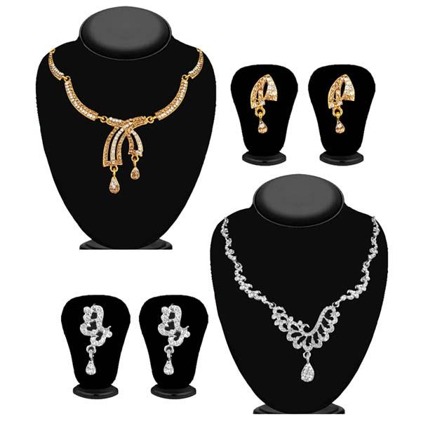 14Fashions Set of 2 Necklace Combo - 1004262