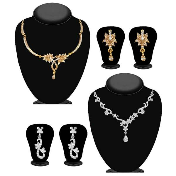 14Fashions Set of 2 Necklace Combo - 1004263