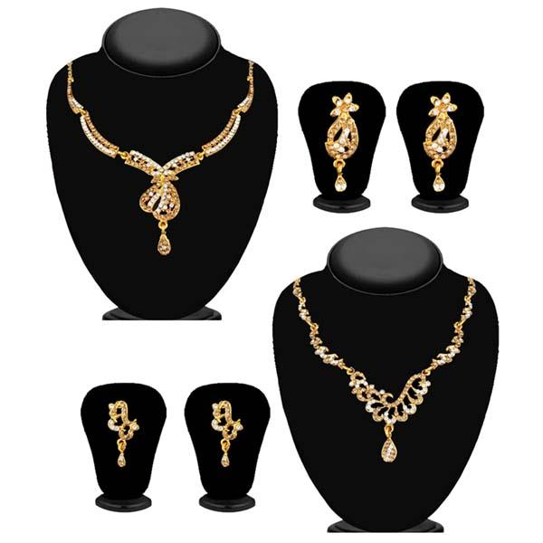 14Fashions Set of 2 Necklace Combo - 1004264