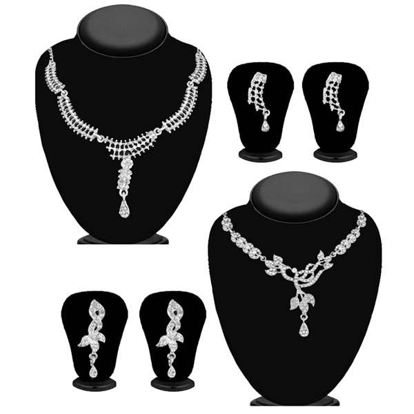 14Fashions Set of 2 Necklace Combo - 1004265