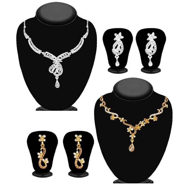 14Fashions Set of 2 Necklace Combo - 1004266