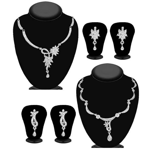 14Fashions Set of 2 Necklace Combo - 1004267