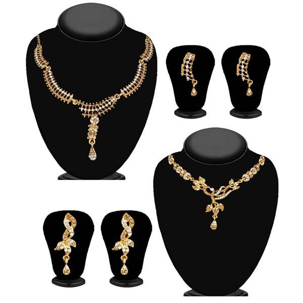 14Fashions Set of 2 Necklace Combo - 1004268