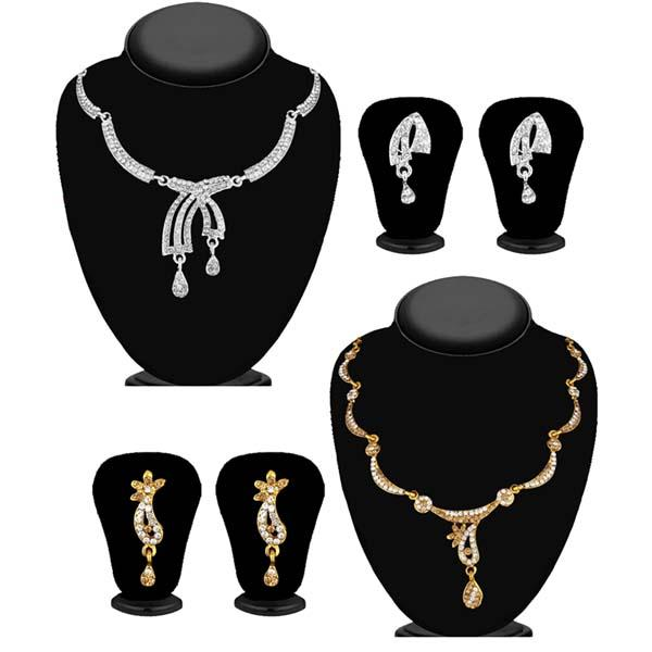 14Fashions Set of 2 Necklace Combo - 1004269