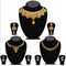 14fashions Pack Of 3 Gold Plated Necklace Combo -1004291