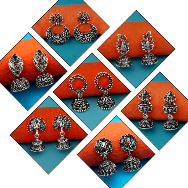 14Fashions Set of 7 Earrings Combo - 1004310