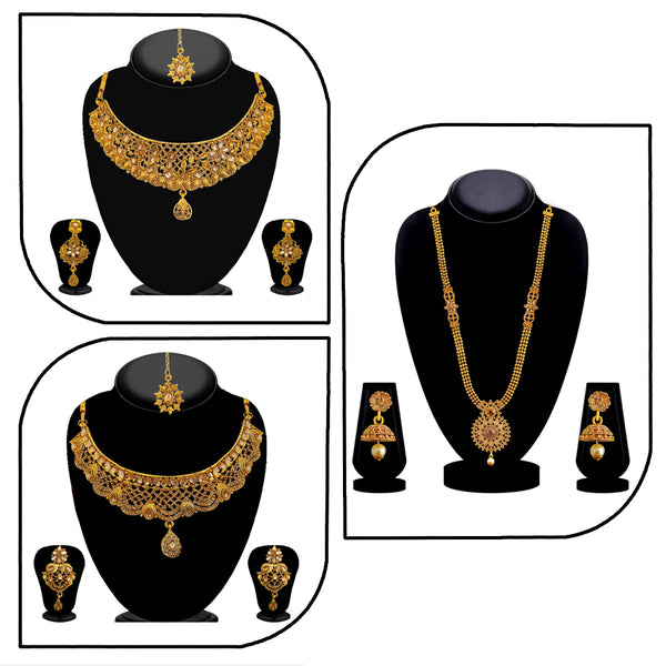 14Fashions Set of 3 Necklaces Combo