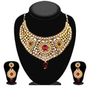 Soha Fashion Gold Plated Kundan Necklace Set